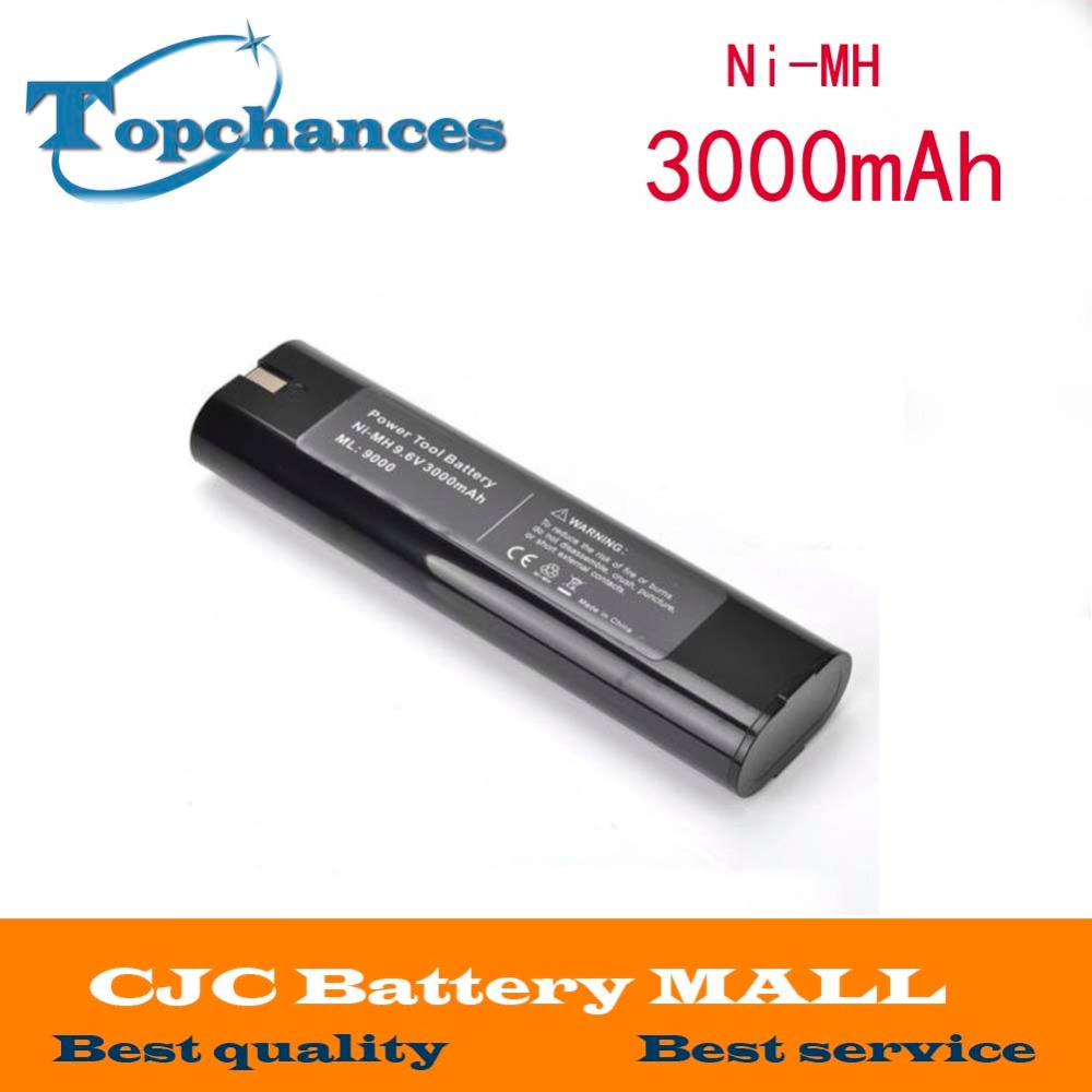 9.6V 3000mAh Rechargeable Battery Replacement Power Tools Battery for Makita Mak 9000 9001 9002 9033 9034 632007-4 Ni-CD 3.0Ah honeywell metrologic ms7625 rs232 horizon page 8