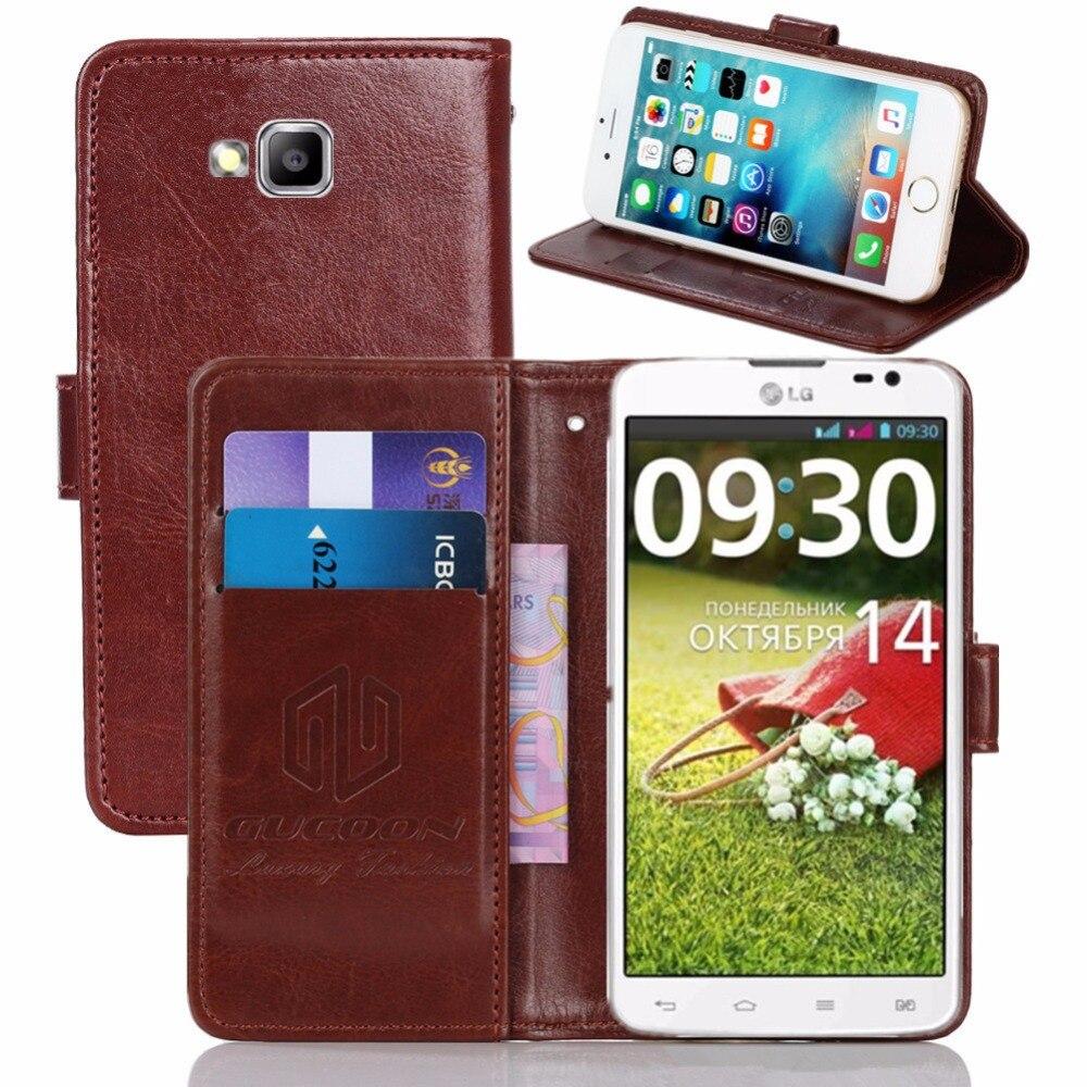 save off 67023 19b38 GUCOON Vintage Wallet Case for LG G Pro Lite Dual D686 5.5