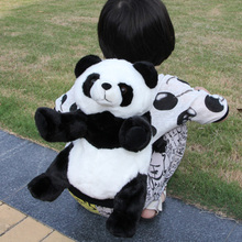 backpack doll gift panda