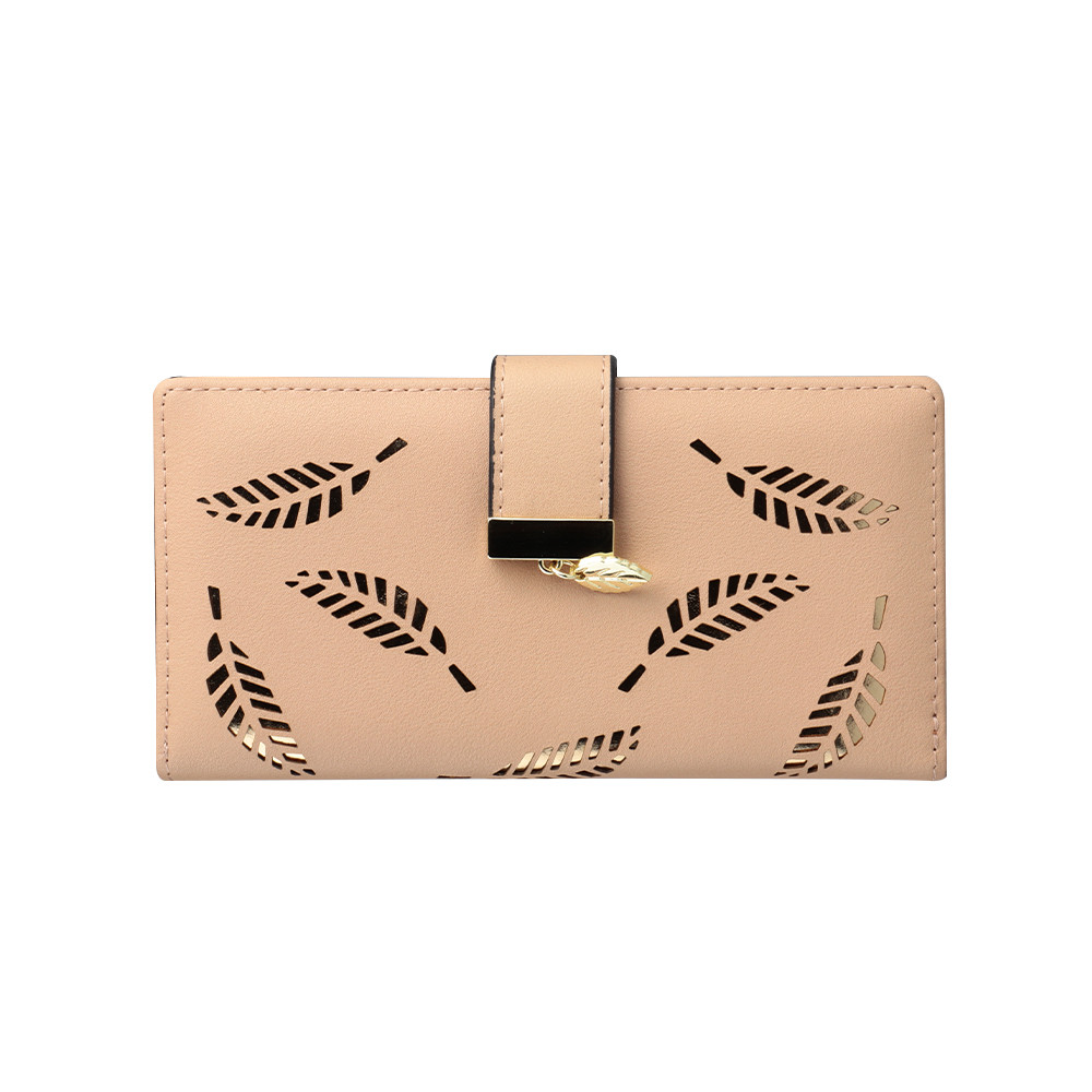 Lovely Long Wallets Brand Purses Fashion Mens Hollow Leather Id Card Holder Billfold Purse Rfid Wallet Hand Designer Luxury Clutch#l5% Luggage & Bags