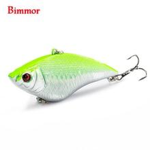 Bimmor 1PCS VIB Fishing Lure Medium Dive Wobble Floating 16 4g 7cm Hard Bait Crankbait Fish