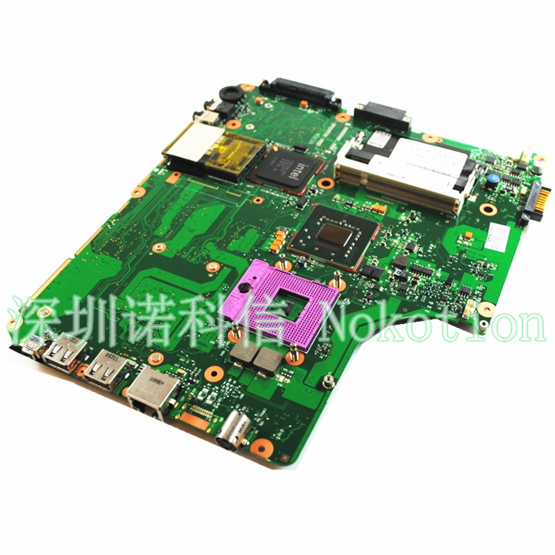 все цены на NOKOTION Laptop Motherboard For Toshiba Satellite Pro A300 A300-1DZ Intel 478 GL960 V000125670 6050A2169401 Free CPU ddr2 онлайн