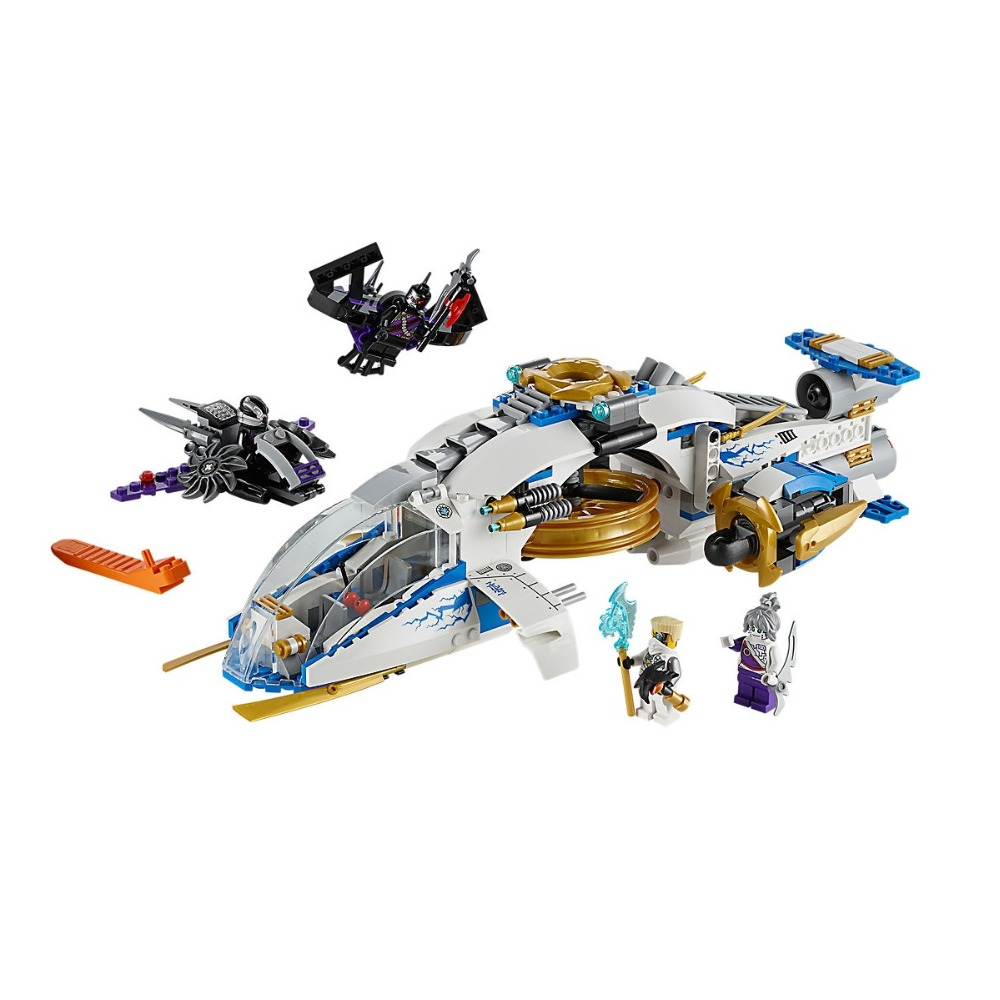 Compatible Legoe Ninjagoe 70724 515PCS Building Blocks toys for Childrens Bricks Model Kid gift NinjaCopter