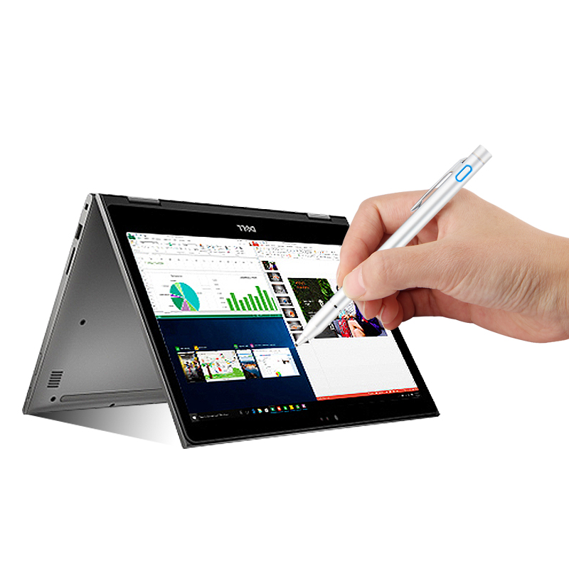 Broonel Grey Fine Point Digital Active Stylus Pen Compatible with The Dell XPS 13 2-in-1 2020 Edition