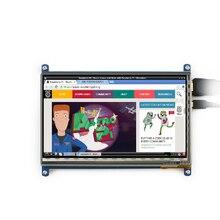 7 дюймов LCD сенсорный экран Емкостный экран 800×480 displayer Применить малины pi BB ЧЕРНЫЙ компьютер HDMI определение