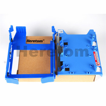 2.5 Adapter Tray R494D+3.5 HDD Tray Caddy DN8MY For Dell Optiplex 380 580 980 Precision T5500 T5810 T7500 image