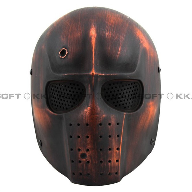Party Mask Airsoft Army Of Two Mask Helmet (Red) Bd6591
