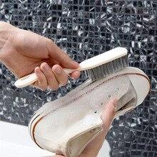 1 Chiếc Cứng Tóc Nhà Vệ Sinh Giày Bàn Chải Giặt Giày Đa Năng Hộ Gia Đình Làm Sạch Dụng Cụ Nâng Cấp Mới Liệt Kê