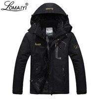 LOMAIYI Plus Size Men's Winter Jacket Men Waterproof Windproof Parka Male Snow Defence Thick Coats Mens Warm Windbreaker AM178