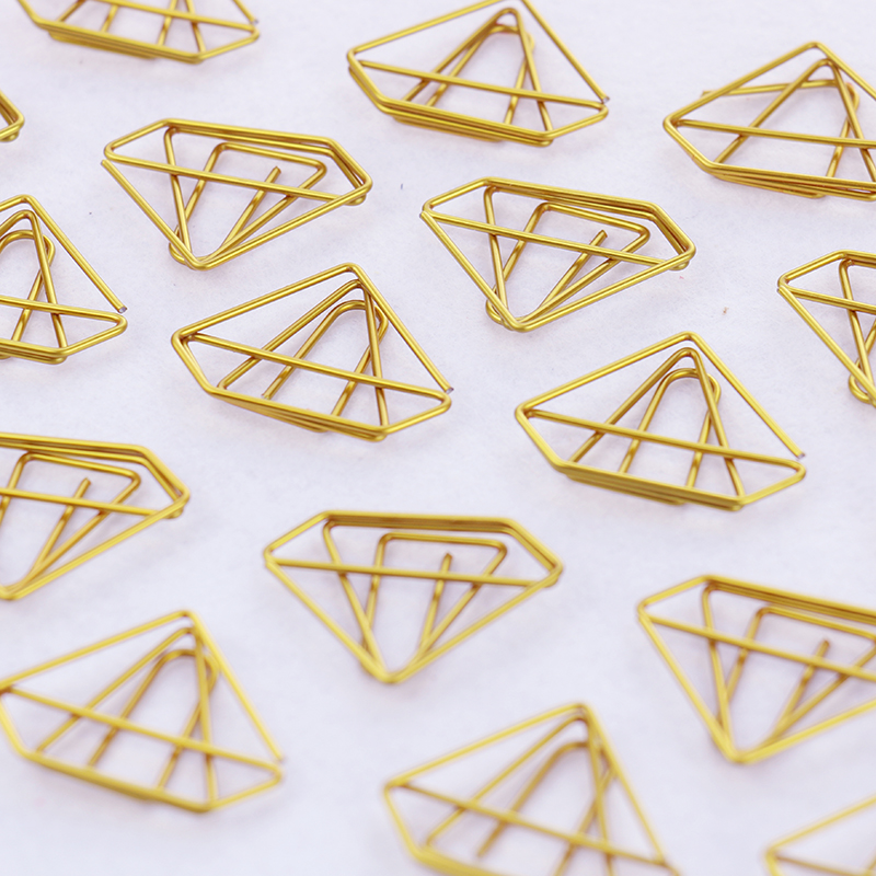 Image 4 - TUTU 30PCS/LOT high quality Paperclip Book Mark Bow Clip Accessories Bookmark Bookend Clip Metal Paper Clip Gold Paperclip H0030-in Clips from Office & School Supplies