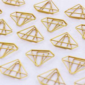 Image 4 - TUTU 30PCS/LOT high quality Paperclip Book Mark Bow Clip Accessories Bookmark Bookend Clip Metal Paper Clip Gold Paperclip H0030