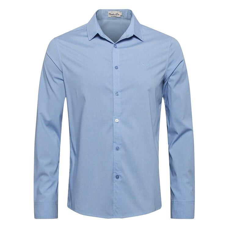 Erkek Kıyafeti'ten Rahat Gömlekler'de MILYARDER Gömlek erkekler 2019 yeni bahar Moda düğmesi Işlemeli pamuk konfor yüksek kaliteli taze tarzı beyefendi ücretsiz kargo'da  Grup 1