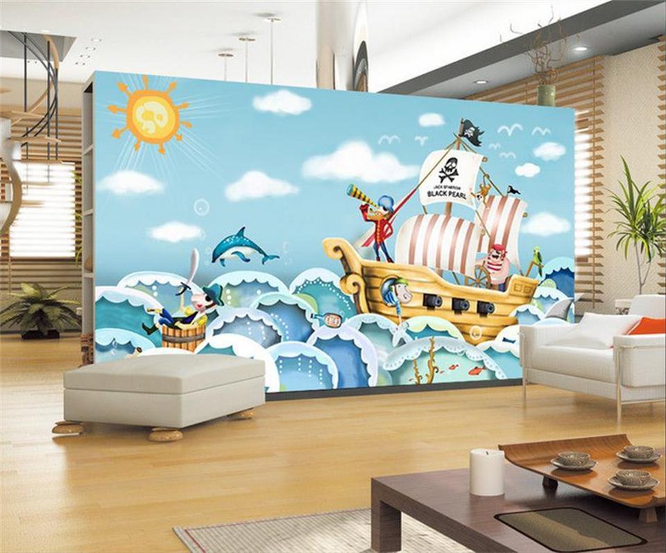 Aliexpress.com: Acheter 3d photo papier peint personnalisé enfants ...