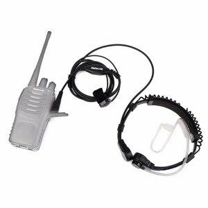 Image 2 - Гарнитура с горловиной и микрофоном для приемопередатчика, 2 шт., для Kenwood TYT Baofeng UV 5R UV 82 Retevis H777 RT 5R RT22 RT3 RT81