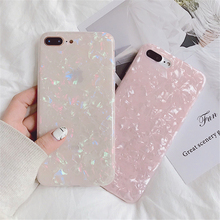 Glitter Phone Case For iPhone 6 6s 7 8 Plus Dream Shell Pattern Cases For iPhone X XS XR XSMAX Soft TPU Silicone Back Cover uslion glitter phone case for iphone 7 8 plus dream shell pattern cases for iphone xr xs max 7 6 6s plus soft tpu silicone cover