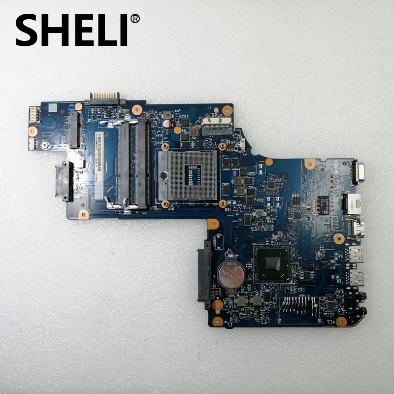 SHELI H000061930 PT10F UMA MB REV: 2.1 69N0CKM011B05 01 DDR3 motherboard for Satellite C55 C50 A C55 A C850 L850