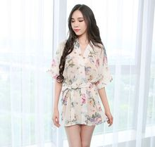 Wholesale New arrival high-end Women's Sleep & Lounge Lady sexy lingerie nightwear suit 2 Colors