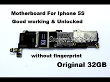 Without fingerprint Unlocked Original 32GB Mainboard For Iphone 5S motherboard,Whole Completed EU version With Full Chips board