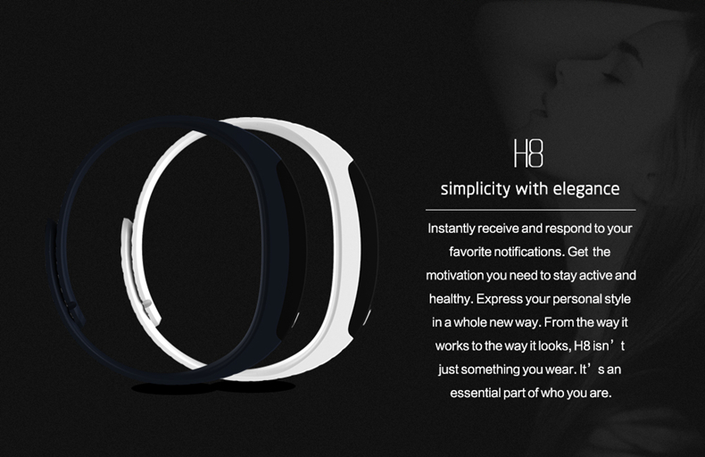 H8 smart band 2
