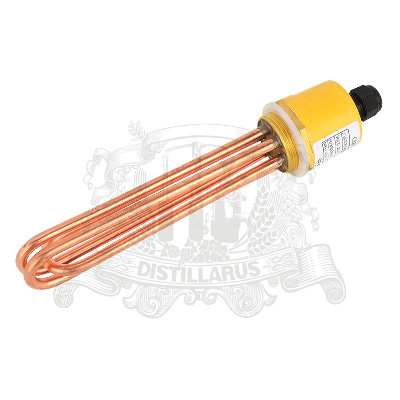 9.0 kW, 220/380V, DN40. Copper Heater for tank, Electric water heater, Heater element china 3kw heater element for lx h30 rs1 bathtub heater