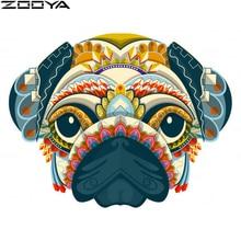 100%5D DIY diamond painting full square / round accessories dog head cartoon new listing K0006