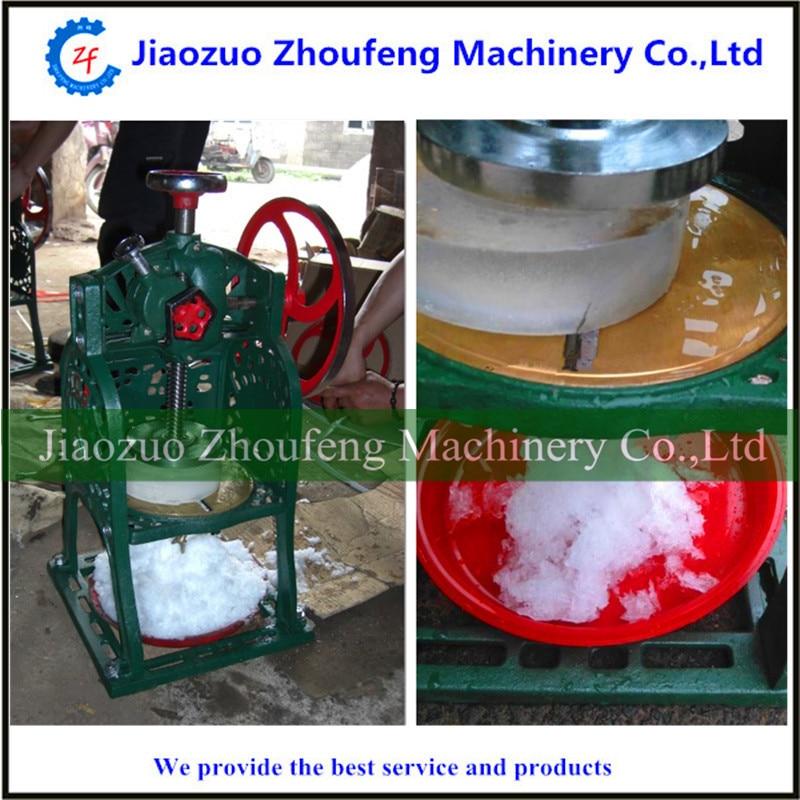 Snow ice shaver machine manual  commercial ice block shaver machine