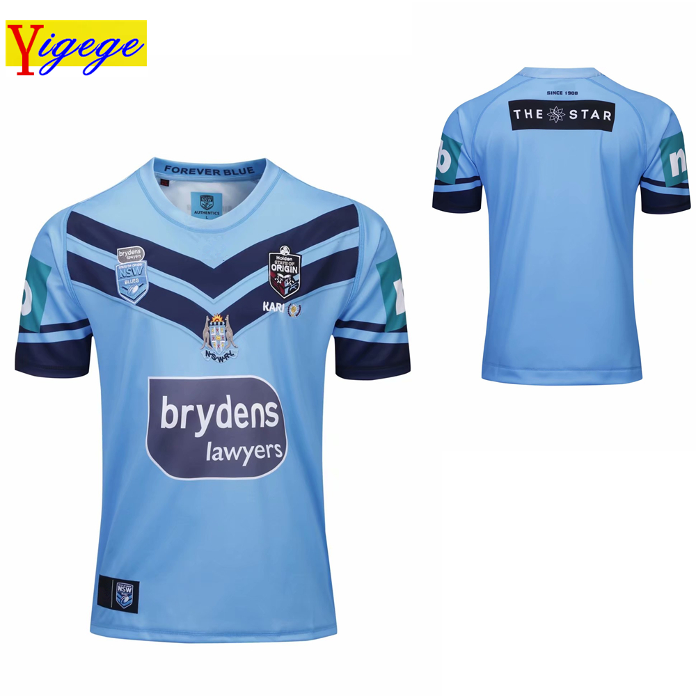 Yigege 2019 nsw blues home pro jersey holden nswrl origins Rugby Jerseys New South Wales Rugby League jersey Holton shirt s-5xl Yigege 2019 nsw blues home pro jersey holden nswrl origins Rugby Jerseys New South Wales Rugby League jersey Holton shirt s-5xl