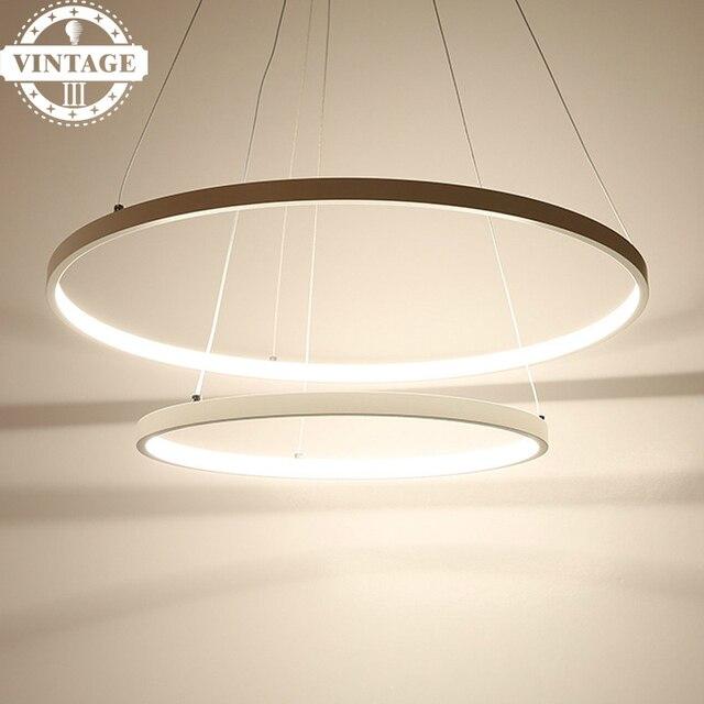 Wohn Esszimmer Led Lustre Anhanger Lampe Moderne Dekorative 3 Kreis