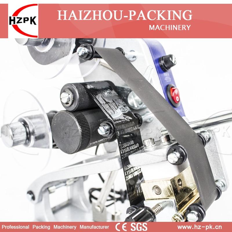 Купить с кэшбэком HZPK Manual Digital Coding Machine Plastic Code Bag Printing Machine Date Produce Printer Stamps Coding Machine With Handle DY-8