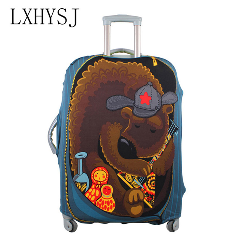 LXHYSJ Brands Luggage Protective Cover Travel case elastic dust cover for 18-30 inch Luggage cover Travel accessories