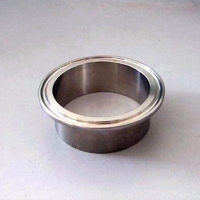 42mm Rohr O/d X 50,5mm Ferrule O/d 304 Edelstahl Sanitär Weld Ferrule Stecker Rohrverschraubung Rohrverbindungsstücke