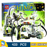 406pcs Spinlyn's Cavern Spider Queen Rhino Bike 10078 Model Building Blocks Boys Assemble Toys Bricks Hobby Compatible With Lego