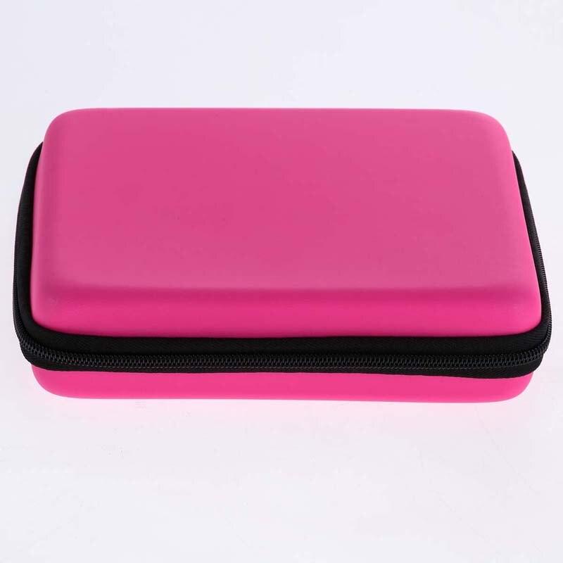 Жесткий ЕВА сумка для хранения Водонепроницаемый игровой консоли защитный держатель orgnizer чехол игровых карт кабель наушников сумка для ...
