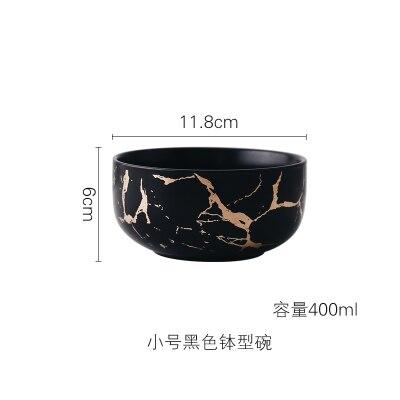 400ml Black Bowl