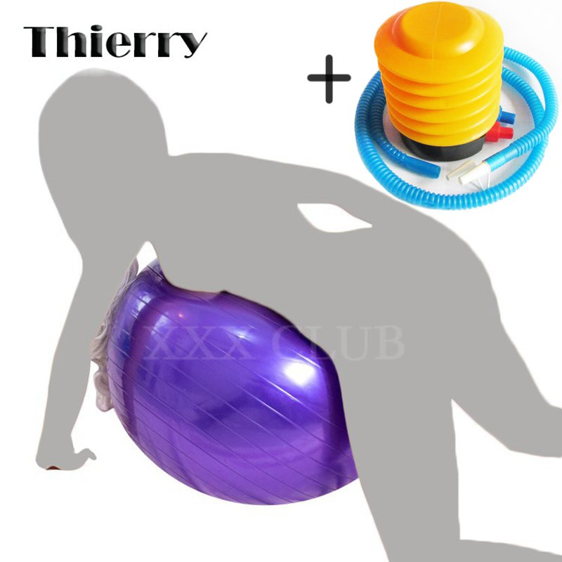 Thierry Sex Furniture Inflatable PVC Ball sex Toys for help adult couples Sex posture, Erotic Products sex Chair