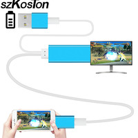 High Quality HDMI HDTV TV Adapter USB Cable 1080P For Apple Air Air2 IPhone 5 5S