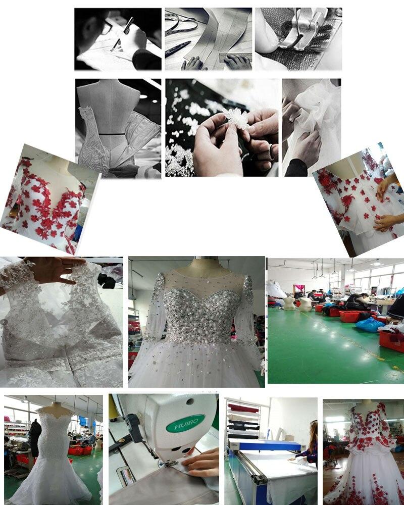 vestido de casamento de alta qualidade vestido