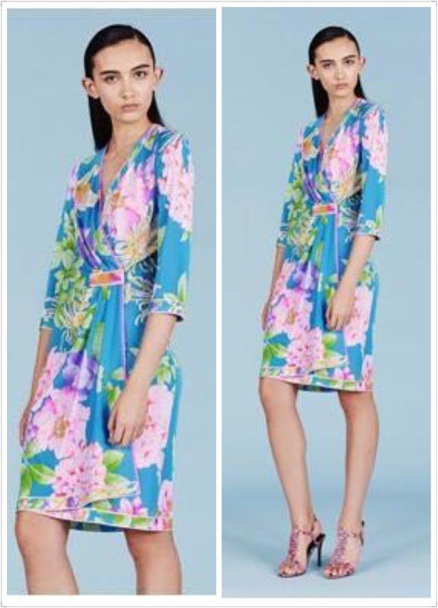 Progettista Day Di 2016 Stampa Elasticizzato Jersey Elastico Autunno Seta 3 Plus Nuovo Arrivo Size 'charming Del 4 Dress Ladies Manica Xxl gTXvE6wq6