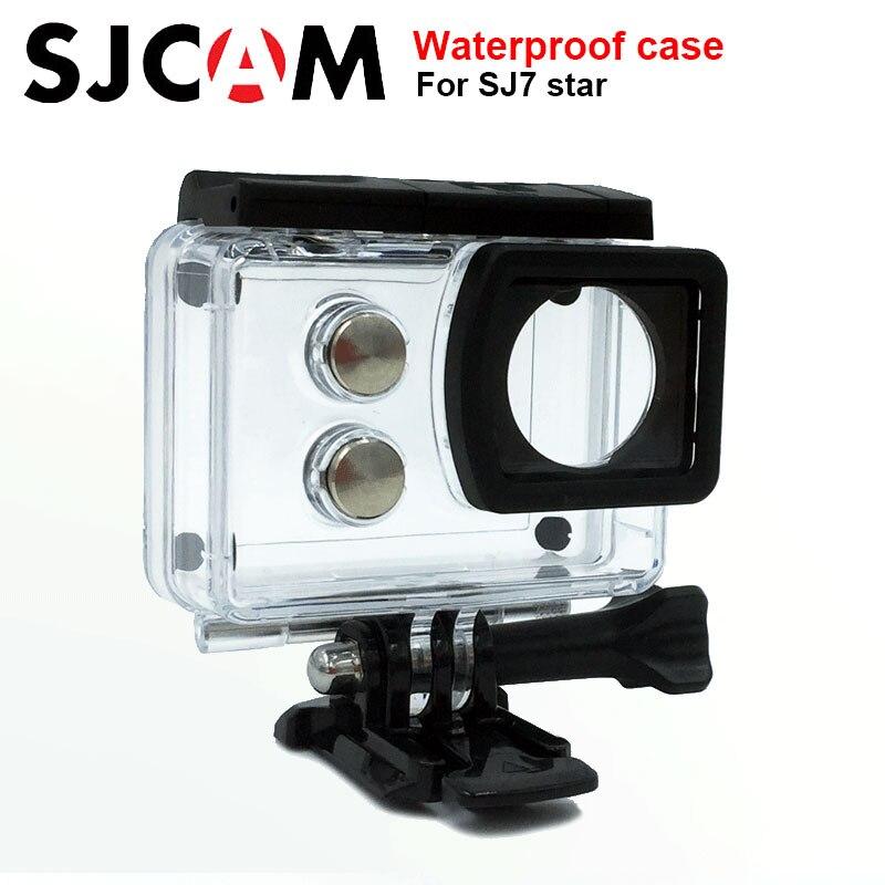Original SJCAM SJ7 estrella Caja impermeable 30 m buceo para SJ CAM SJ7 estrella deportes acción Cámara accesorios