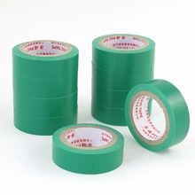 UXCELL 10pcs Green PVC Adhesive High Voltage Insulation Cable Wrapping Insulation Electrical Tape 16mm Width 5m Length zhishunjia electrical pvc insulation adhesive tape green