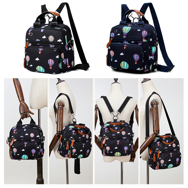 Women Mummy Waterproof Maternity Diaper Nappy Tote Bag Large Capacity Shoulder Nursing Bags Female Backpack for Mother Girls Mom in Backpacks from Luggage Bags