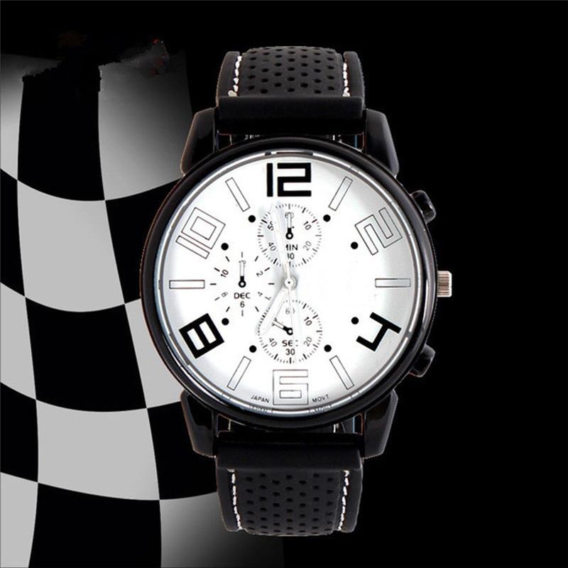 2017 1PC Men Fashion Stainless Steel Sport Cool Quartz Hours Wrist Analog Watch men watches 2017 luxury brand blue shope 30%
