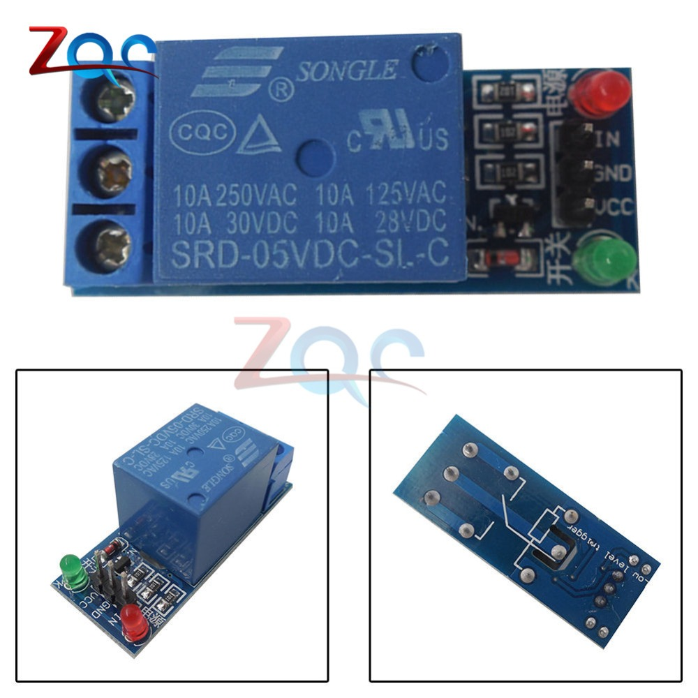 Top 99 Cheap Products Relay 220v Arduino In Bulbs The 8way Board 10pcs 1 Channel Module Interface Shield For 5v Low Level Trigger One Pic Avr Dsp Arm Mcu Dc Ac