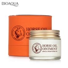 BIOAQUA Anti-Aging Day Cream Horse Oil Ointment Whitening Moisturizing Anti Wrinkle Cream Skin Care