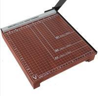 DELI многофункциональная Бумага Резак офисная ручная машина для резки бумаги деревянная бумага резак Фото Бумага для резки офисные принадле
