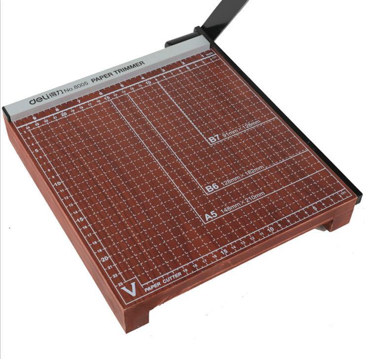 High quality DELI 8005 manual cutting machine  wooden cutting utility knif 25*25cm high quality deli 8005 manual cutting machine wooden cutting utility knif 25 25cm