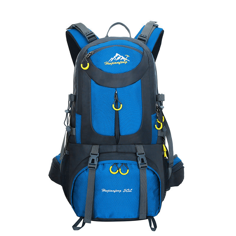 ФОТО Outdoor Mountaineering Multi-color Backpack Hiking Camping Bag Unisex Large Capacity Anti-backpack 50L 40L Shoulder Bags