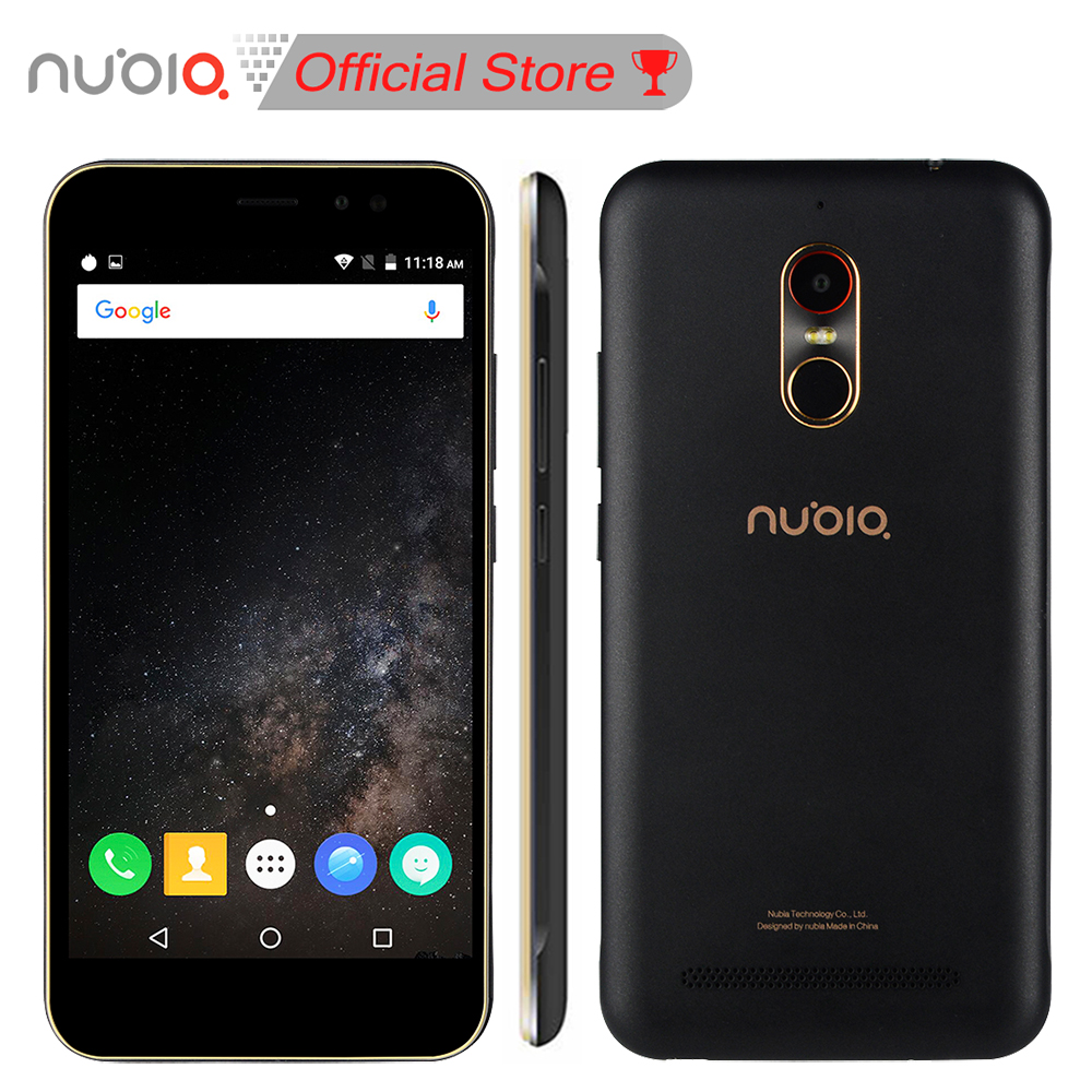 Nubia N1 Lite NX597J 5 5inch HD Mobile Phone MT6737 Quad Core 2GB RAM 16GB ROM