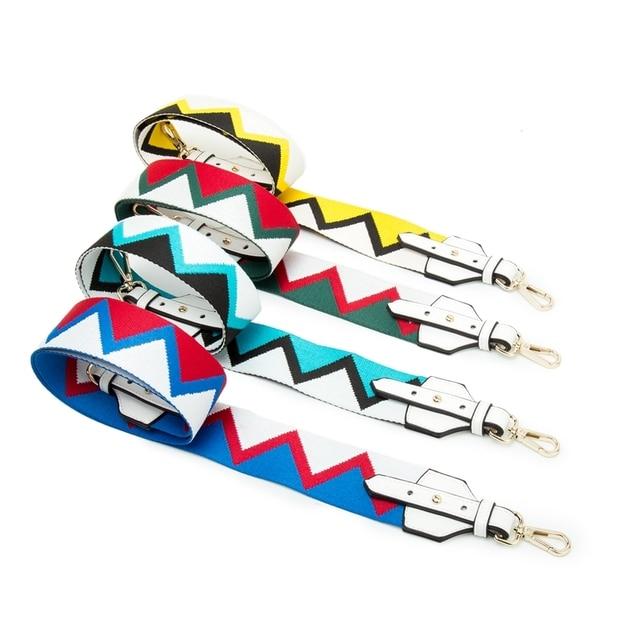 c7503db504c9 FASHIONS KZ Bag Strap Colorful Bag Belt Wide Shoulder Messenger Bag Band  Replacement for Handbag DIY Bag Accessories KZ151327