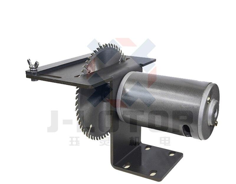Moteur de brosse de puissance élevée de 350 W 8000 t/mn DC 220 V pour la Mini scie à bois scie à bois Machine de découpe de bois dur